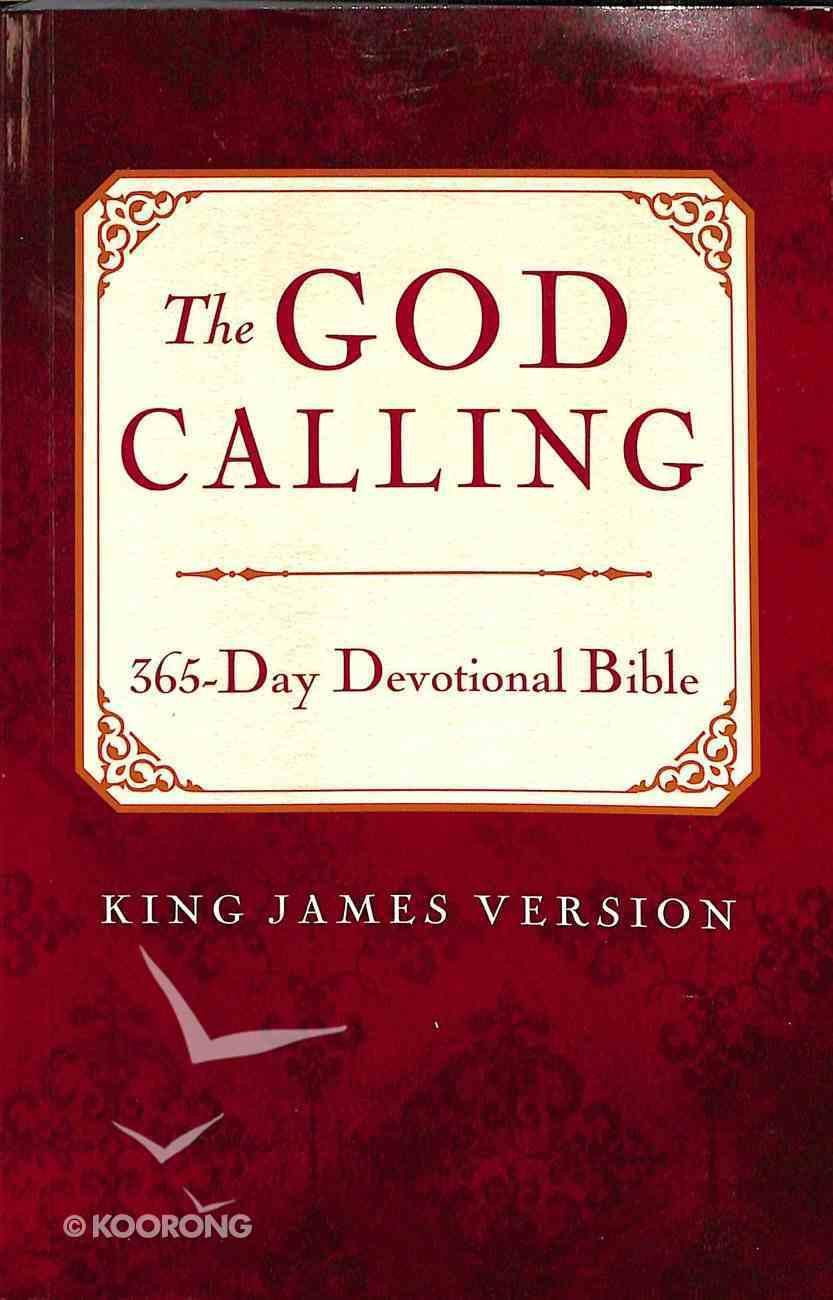 KJV God Calling 365-Day Devotional Bible Paperback