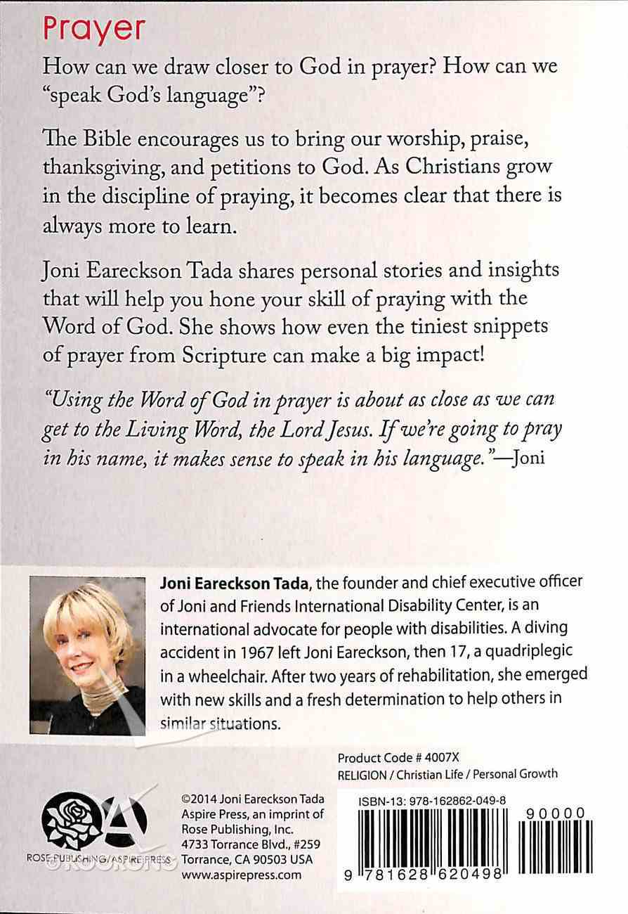 Prayer (God's Help In Tough Times Series) Booklet