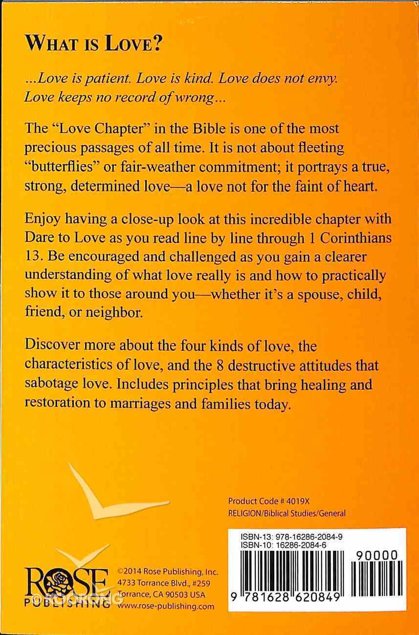 The Love Chapter: 1 Corinthians 13 Booklet