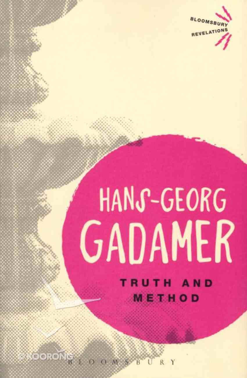 Truth and Method Paperback
