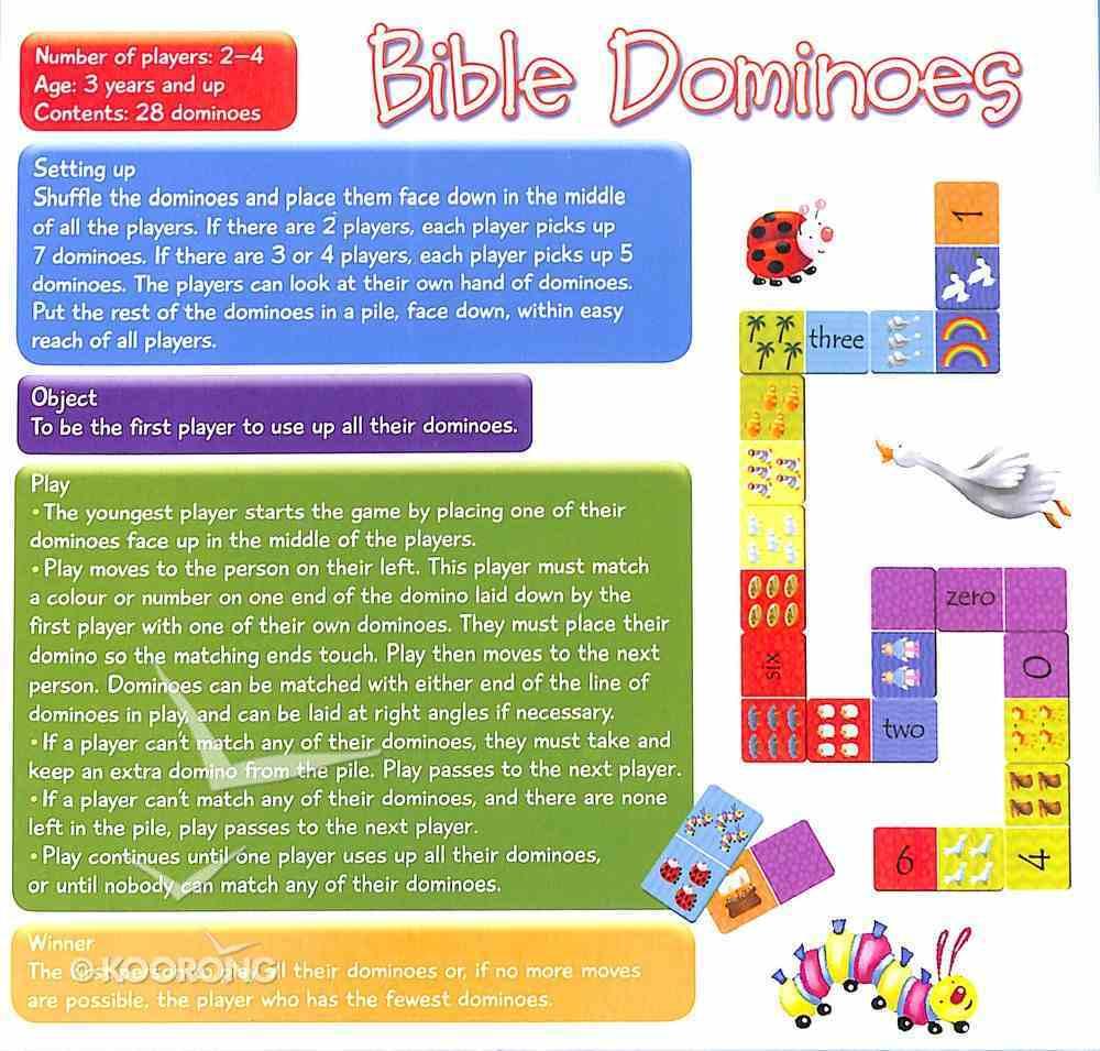 Bible Dominoes Game