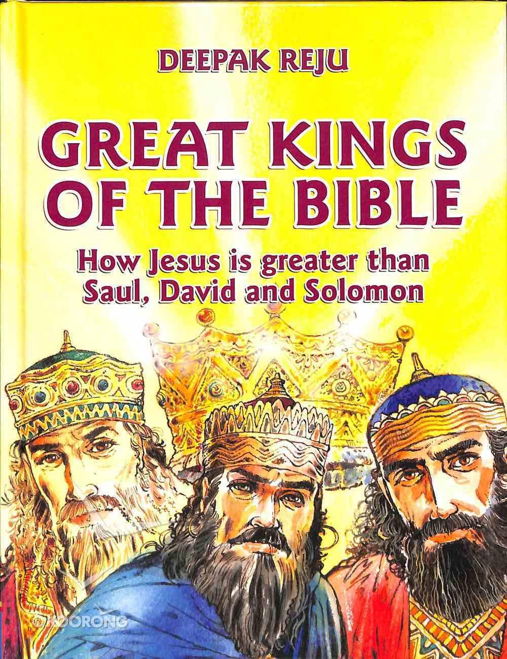 Great Kings of the Bible Hardback