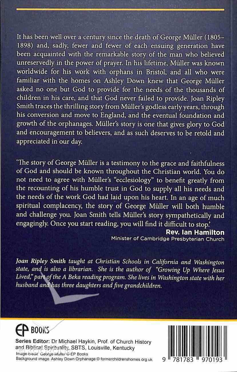 George Muller (Bitesize Biographies Series) Paperback