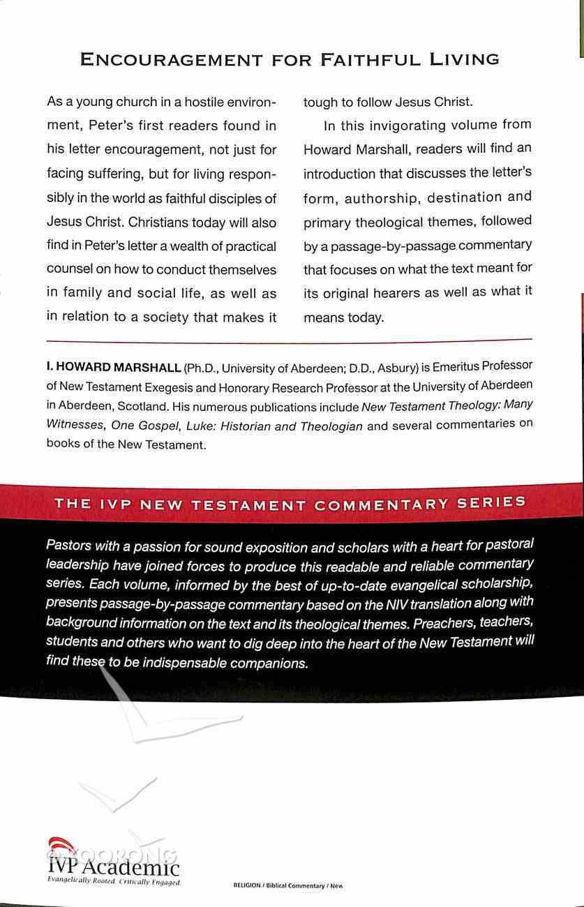 Ivp Ntc: 1 Peter (Ivp New Testament Commentary Series) Paperback