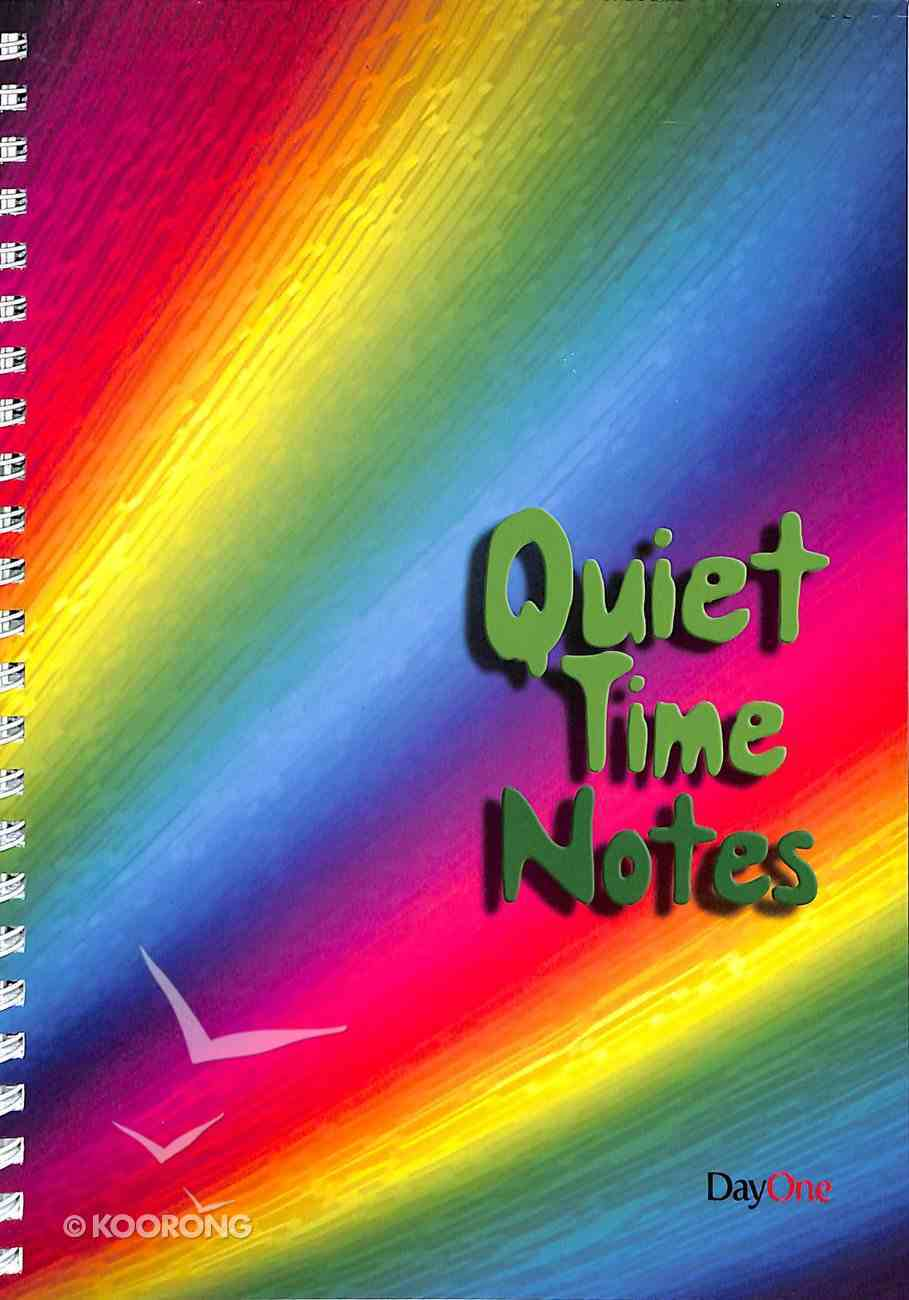 Quiet Time Notes Stationery