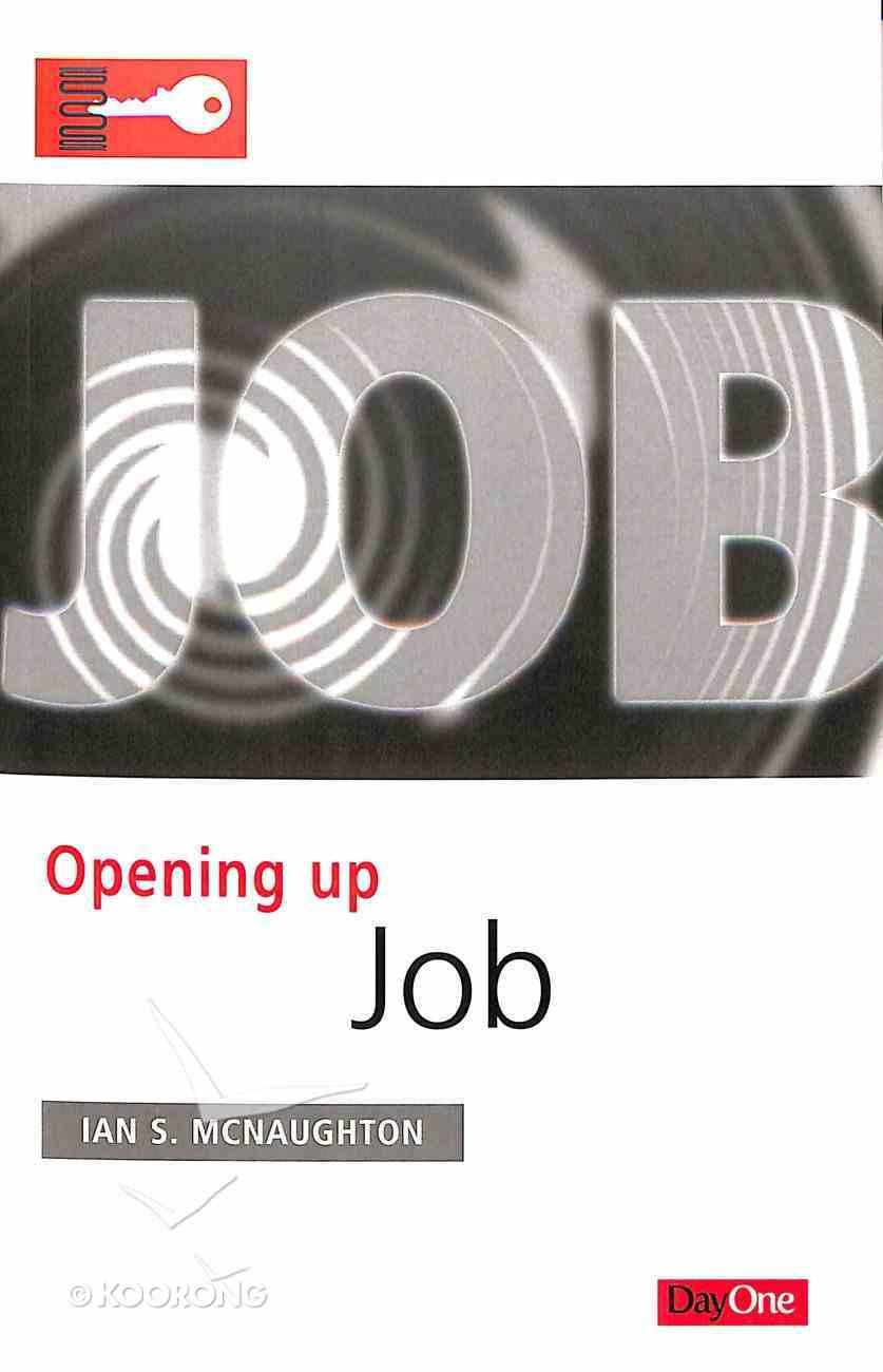 Job (Opening Up Series) Paperback