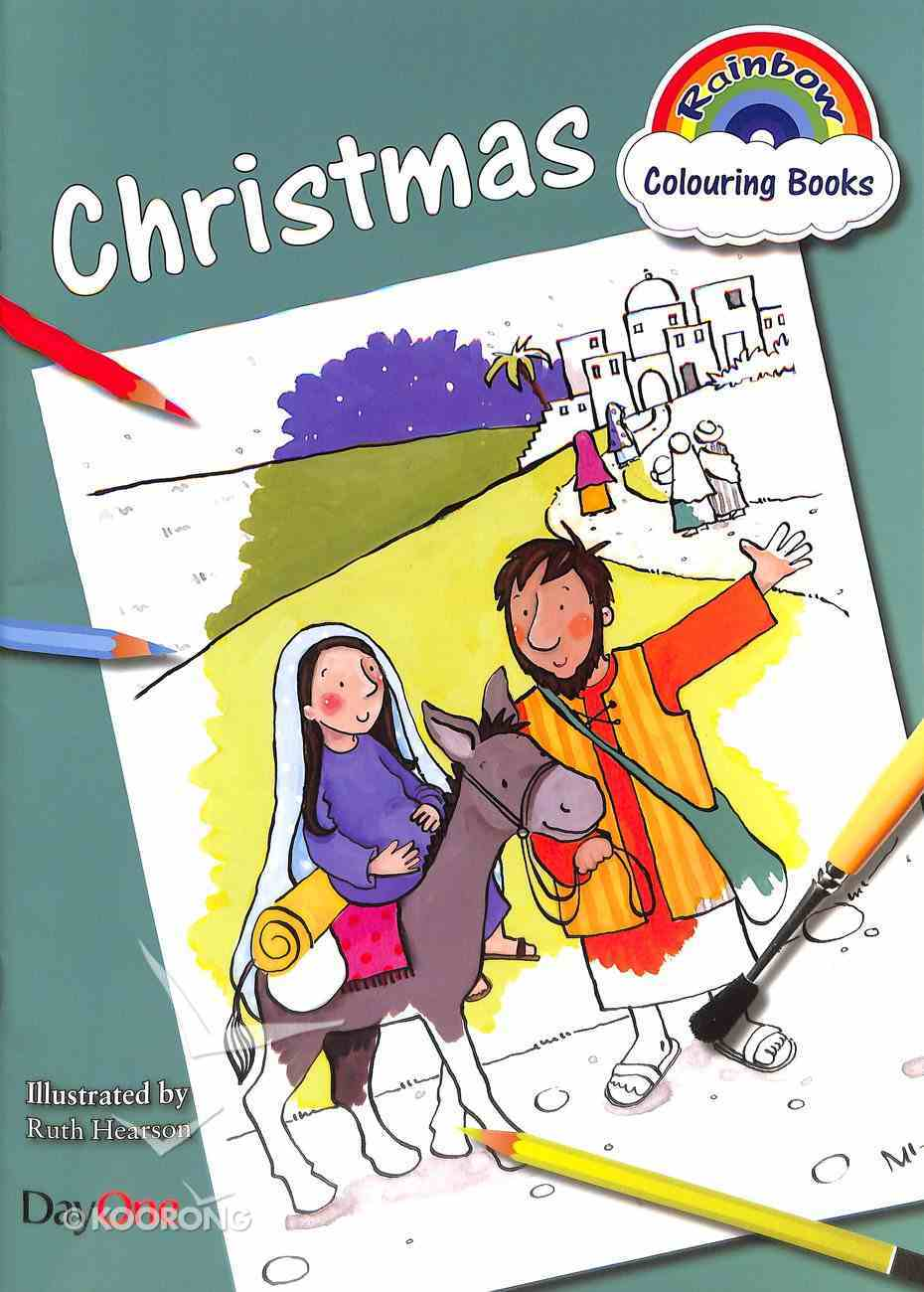 Rainbow Colouring Book: Christmas Paperback