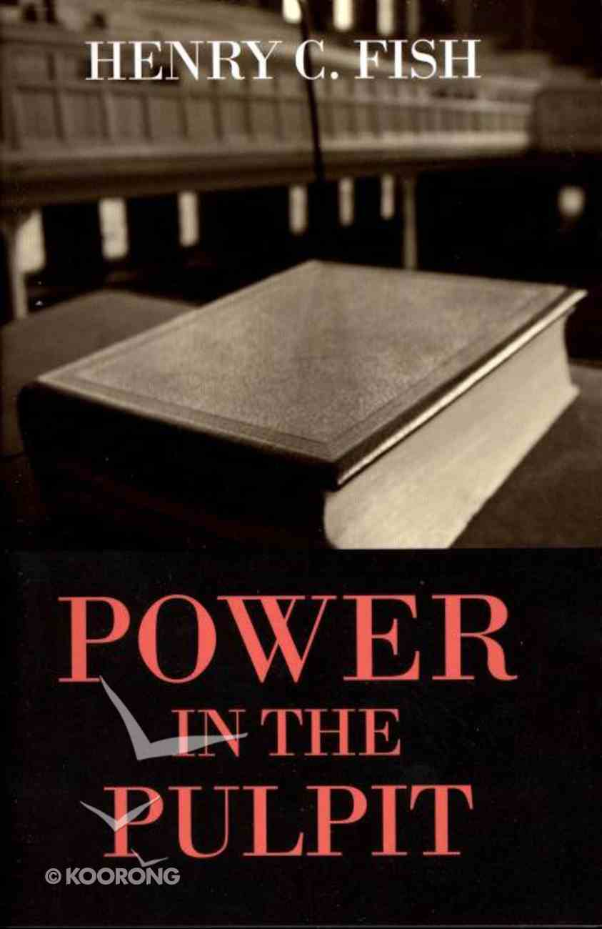Power in the Pulpit Booklet