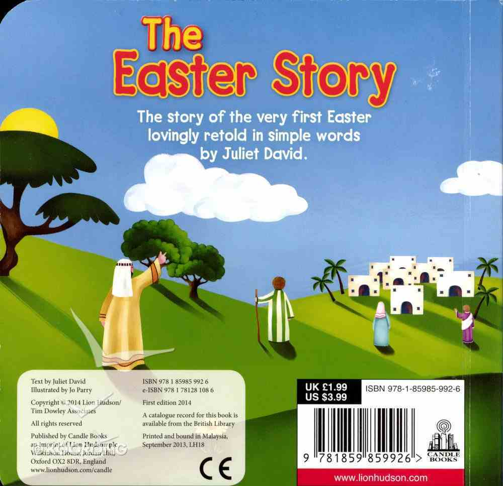 The Easter Story (Candle Bible For Kids) Board Book