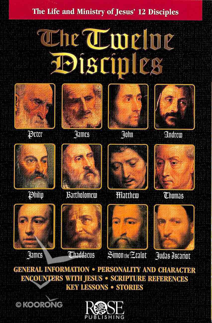 The Twelve Disciples (Rose Guide Series) Pamphlet