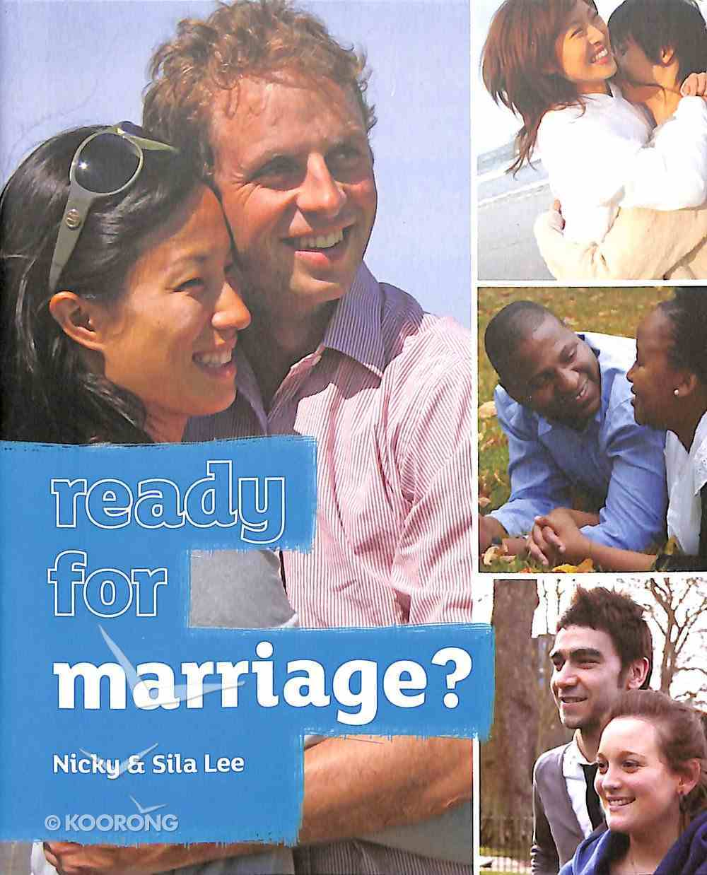 Ready For Marriage? (Booklet) Booklet