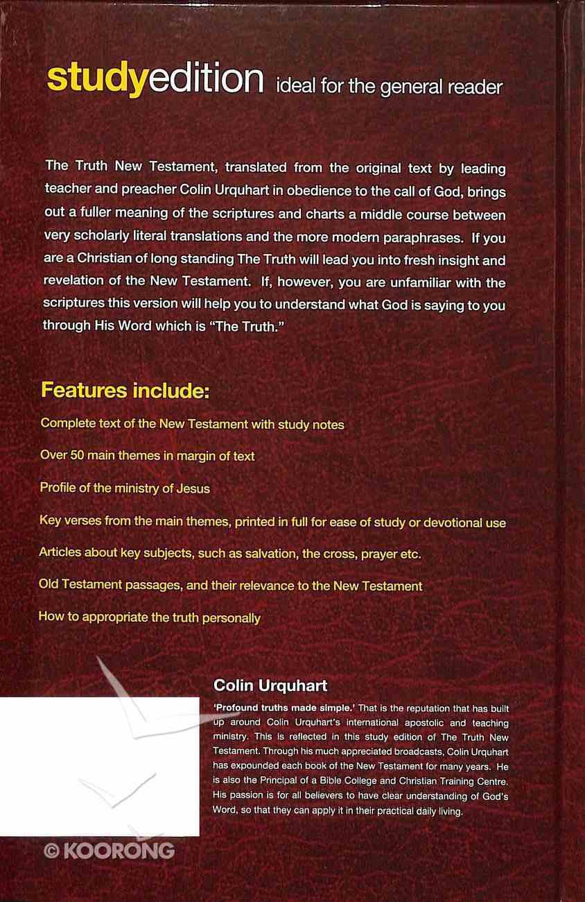 Truth, the Study Edition (New Testament) Hardback