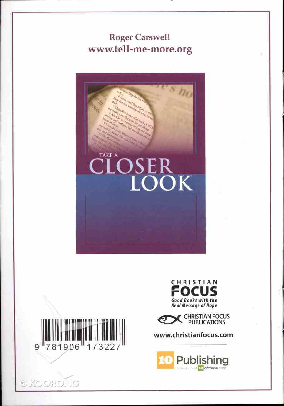 Take a Closer Look Booklet