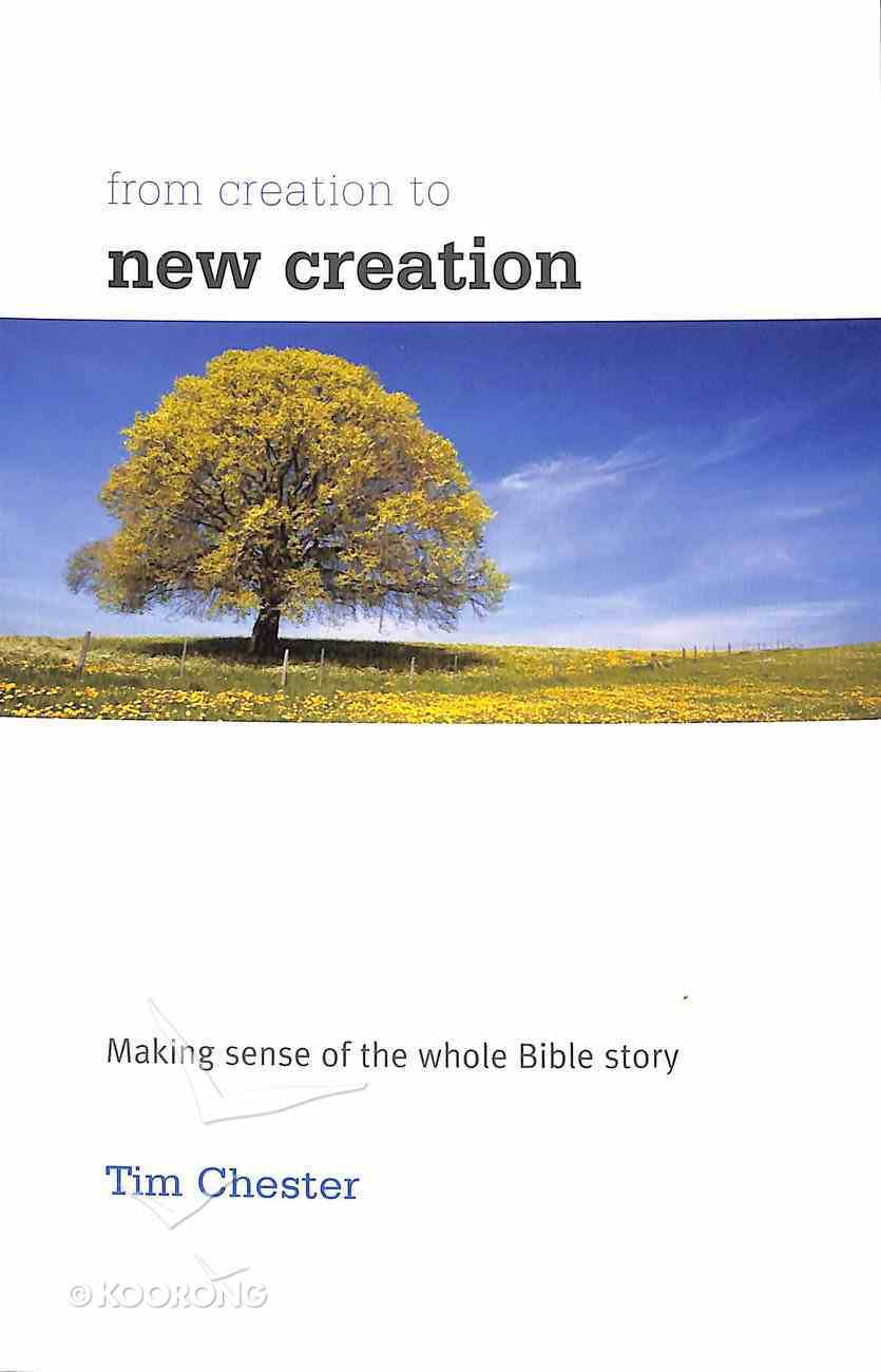From Creation to New Creation: Making Sense of the Whole Bible Story Paperback