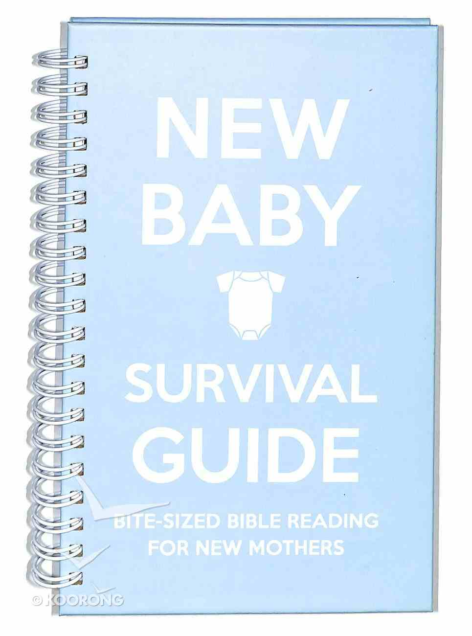New Baby: Bite-Sized Bible Reading For New Mothers (Blue) (Survival Guide) Spiral