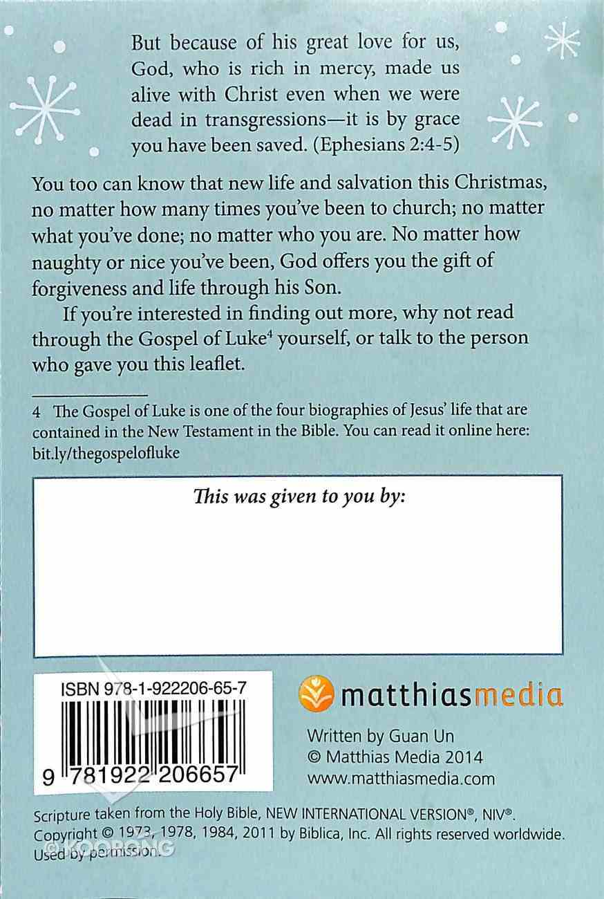 Naughty Or Nice? Booklet