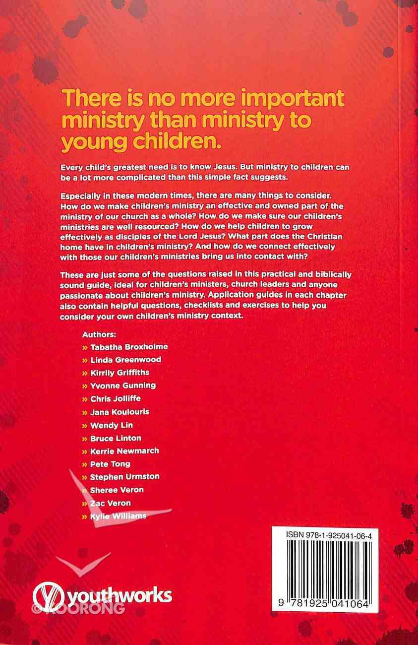 Children's Ministry on the Front Foot Paperback