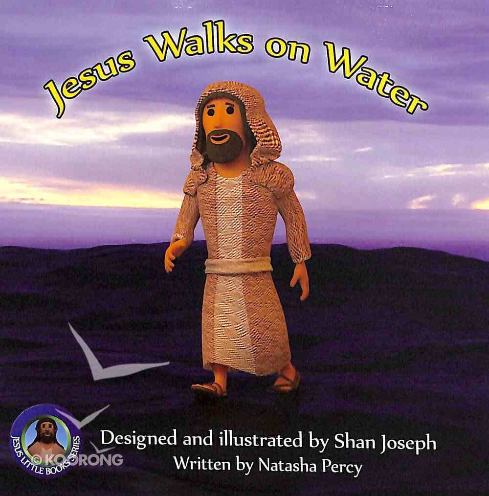 Jesus Walks on Water (Jesus Little Book Series) Paperback