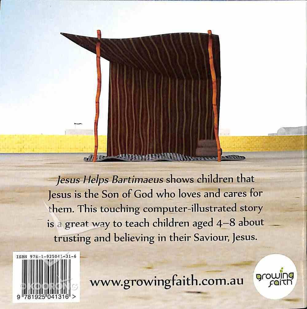 Jesus Helps Bartimaeus (Jesus Little Book Series) Paperback