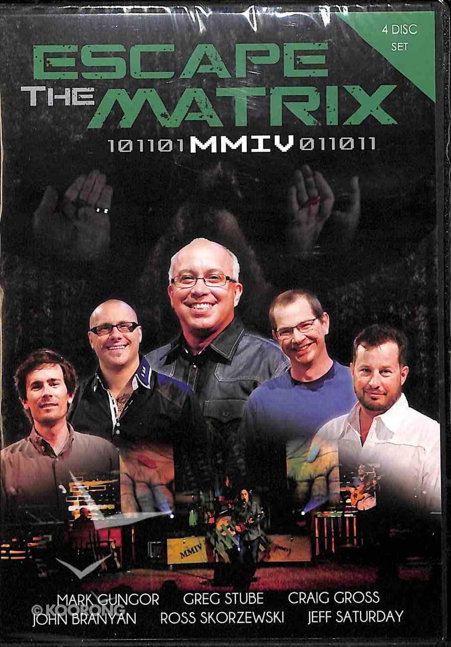 Manly Man Conference 4: Escape the Matrix (4 Dvd Set) DVD