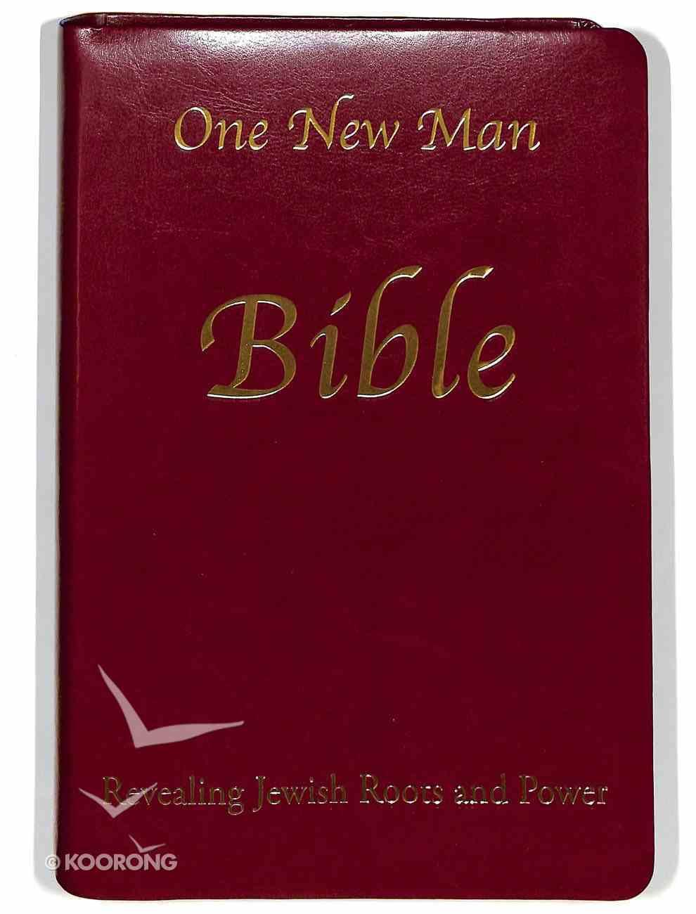 One New Man Bible Imitation Leather