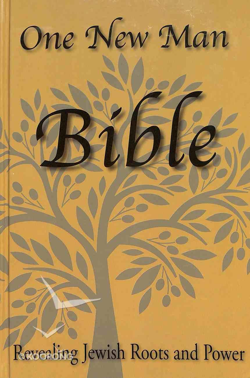 One New Man Bible Hardback