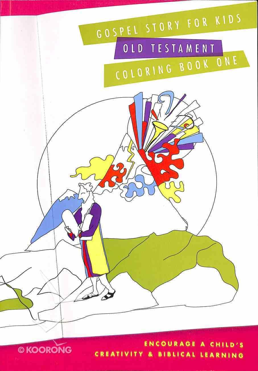 Gospel Story For Kids Old Testament Coloring Book One Paperback
