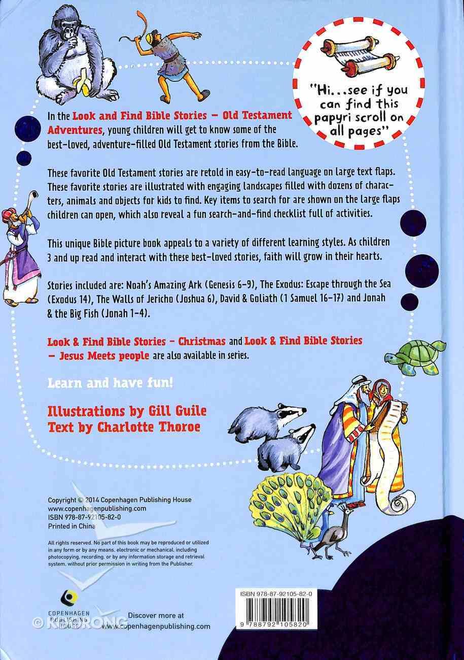 Look & Find Bible Stories: Old Testament Adventures Board Book