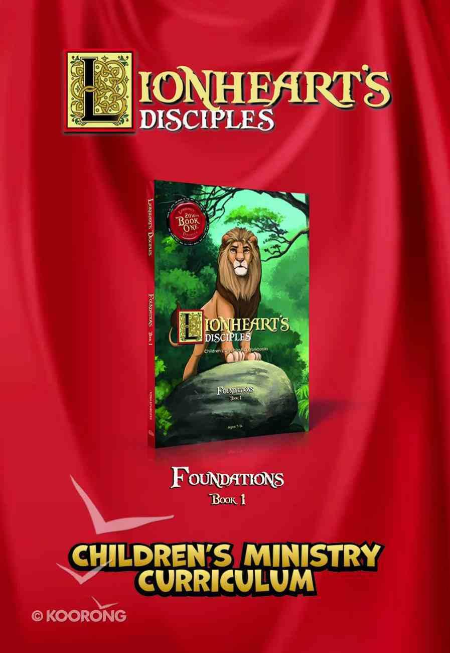Lionheart's Disciples: Children's Ministry Curriculum Foundations (DVD) (Book 1) DVD