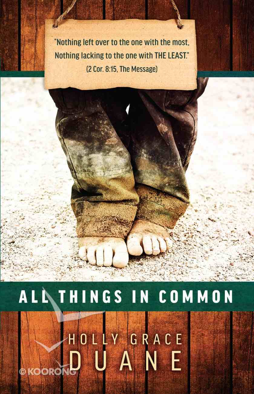All Things in Common Paperback