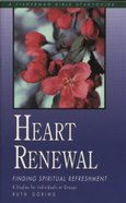Fbs: Heart Renewal: Finding Spiritual Refreshment image