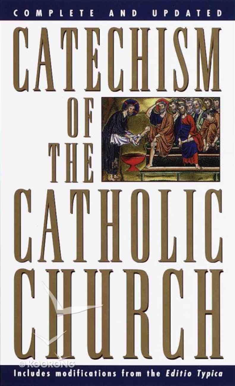 Catechism of the Catholic Church Mass Market