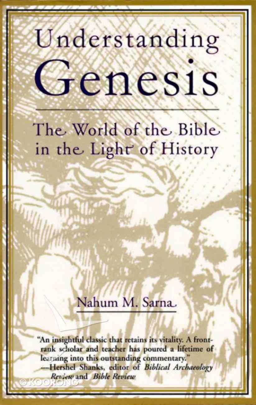 Understanding Genesis Paperback