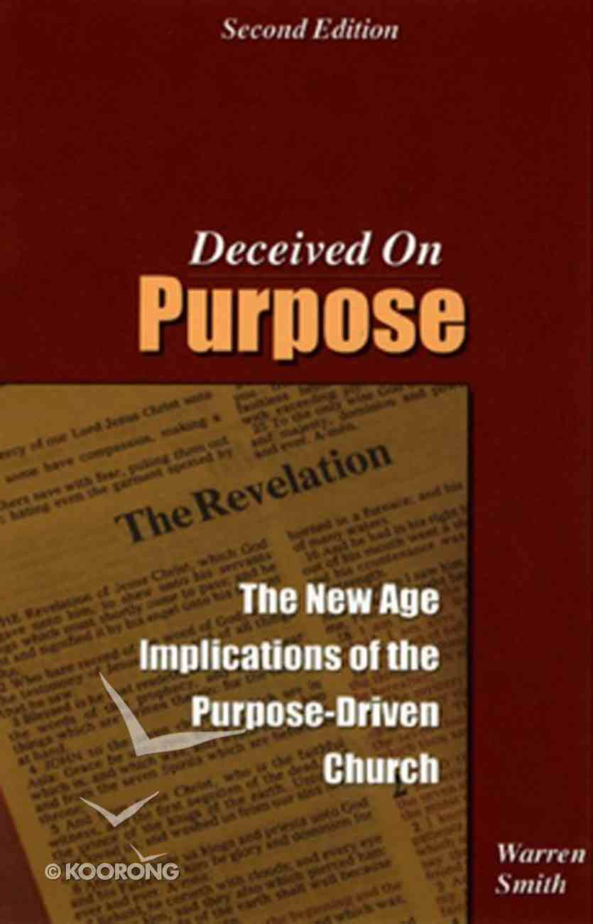 Deceived on Purpose Paperback