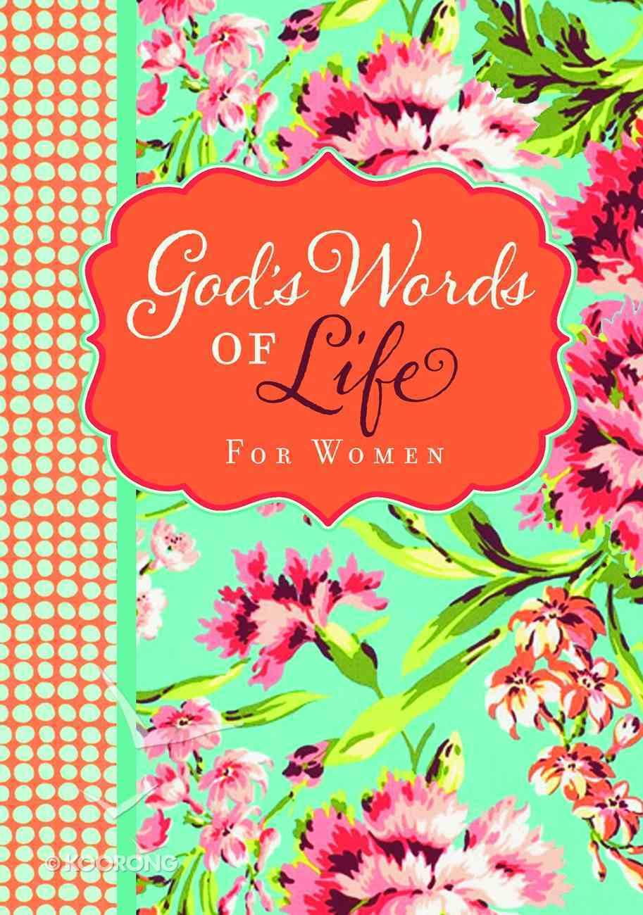 God's Words of Life For Women (Niv) Paperback