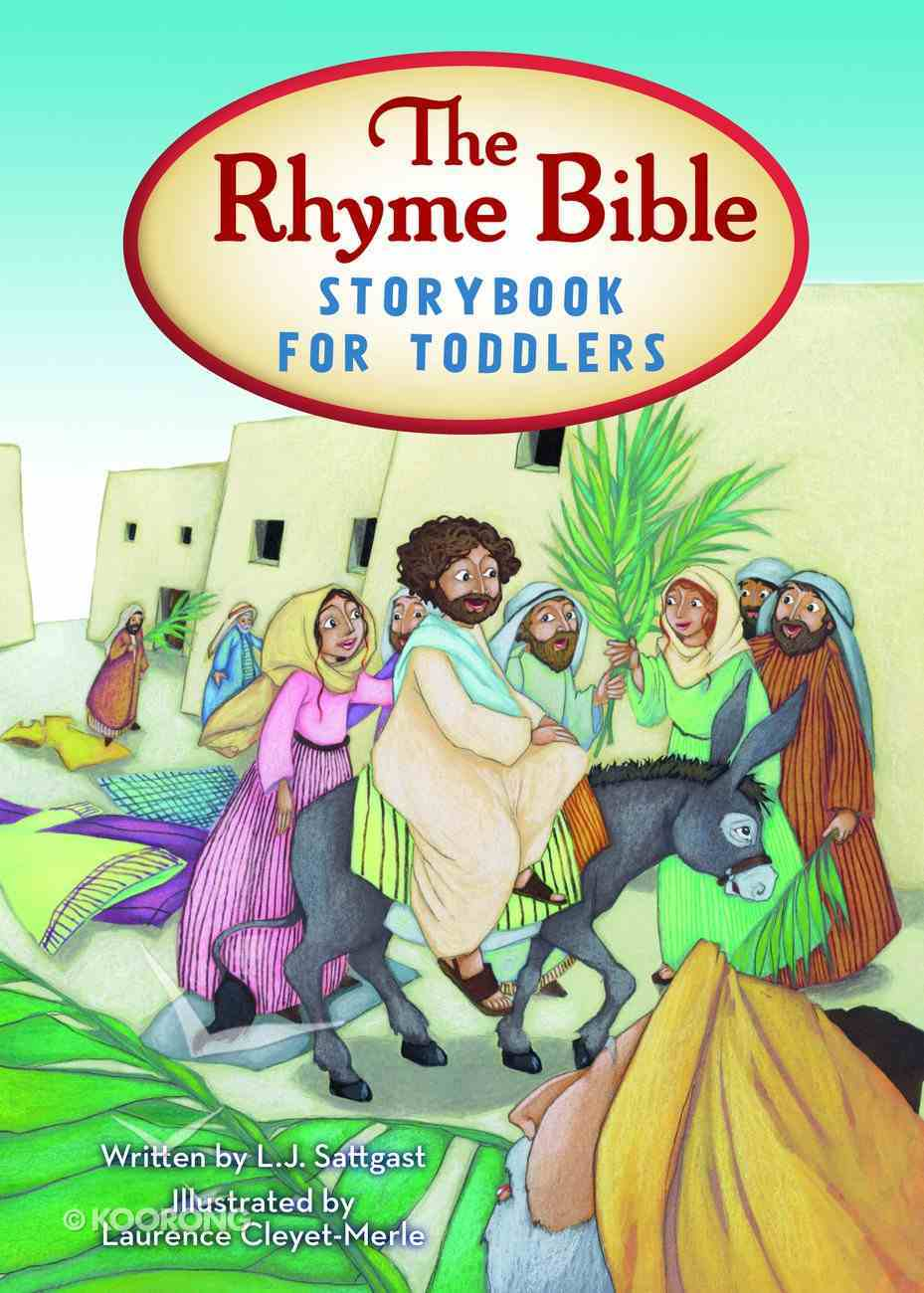 The Rhyme Bible Storybook For Toddlers Board Book