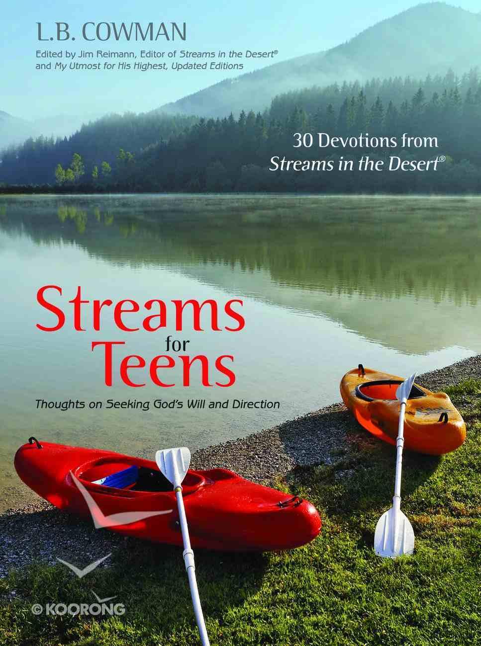 Streams For Teens Hardback