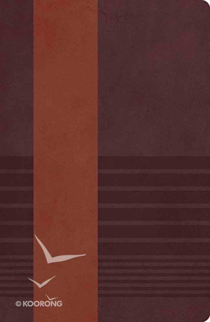 NKJV Study Bible Rustic Brown/Dark Mahogany Second Edition (Black Letter Edition) Imitation Leather