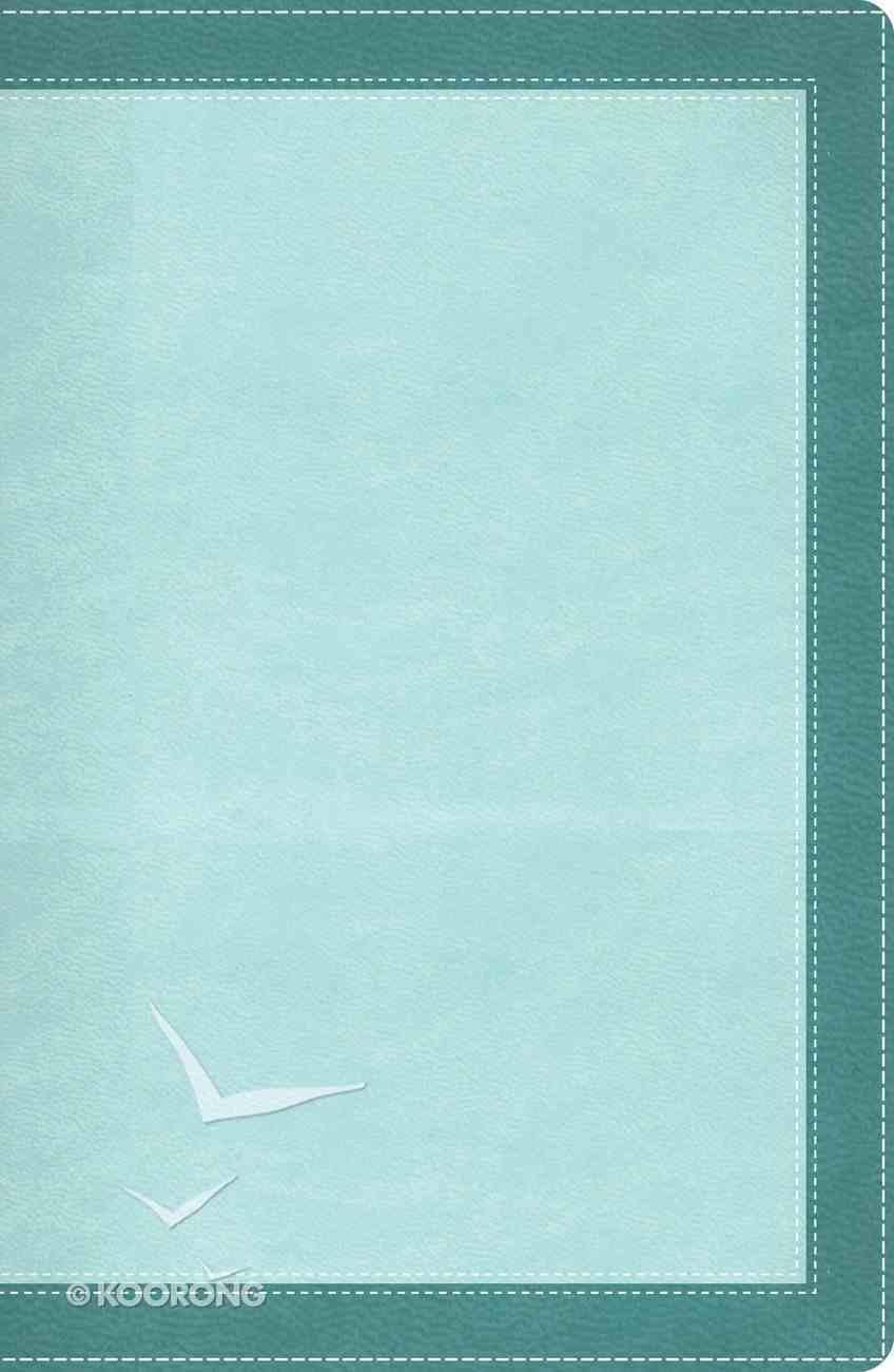 NIV Woman's Study Bible Turquoise/Sea Foam Green Bonded Leather