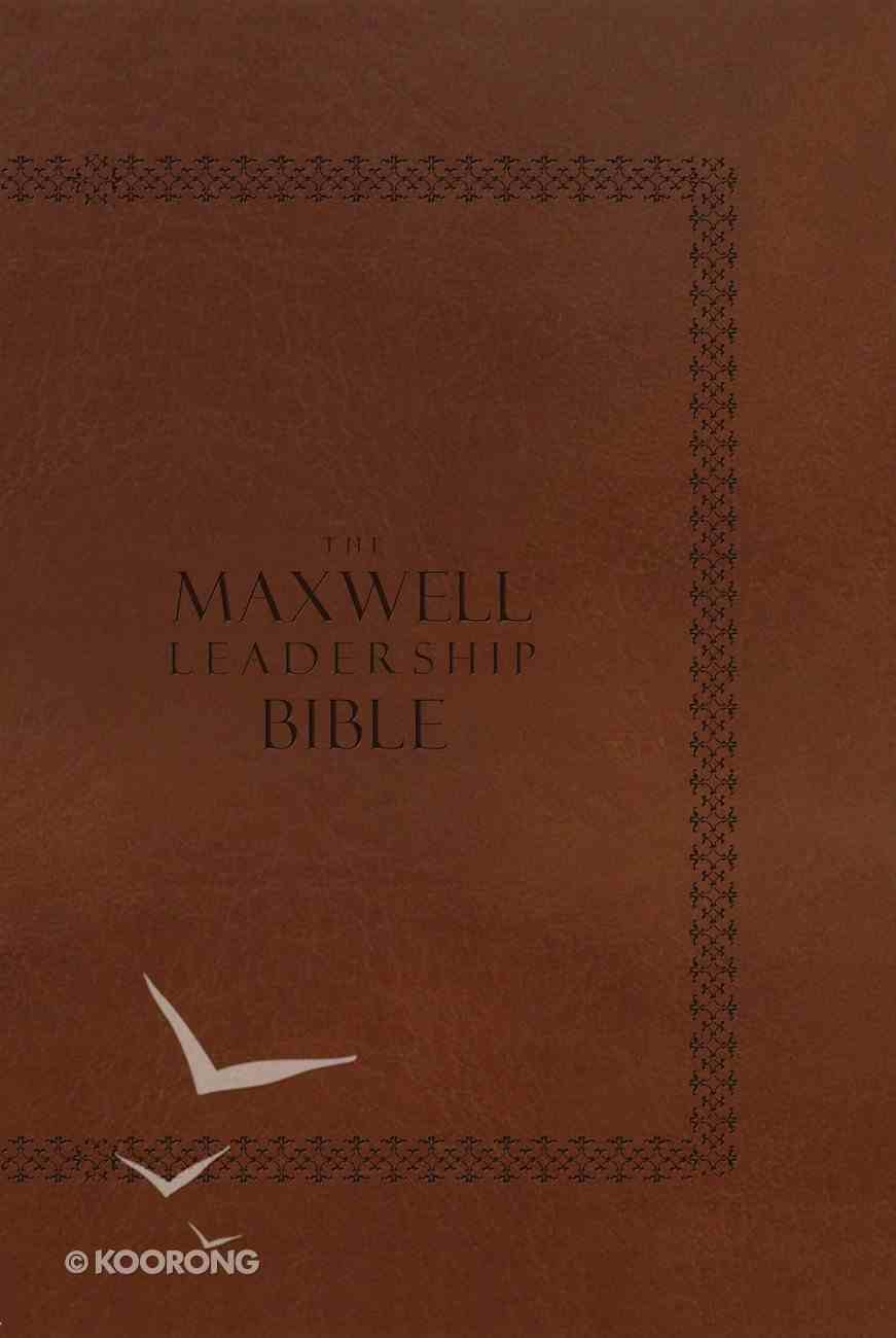 NKJV Maxwell Leadership Briefcase Edition, Revised and Updated Coffee Hardback