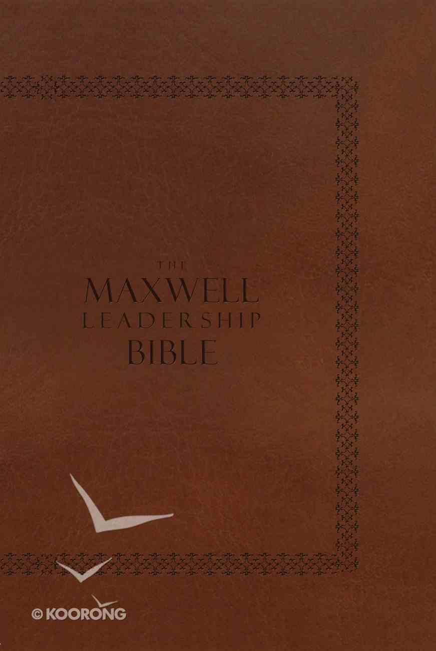 NIV Maxwell Leadership Bible Coffee Bean Hardback