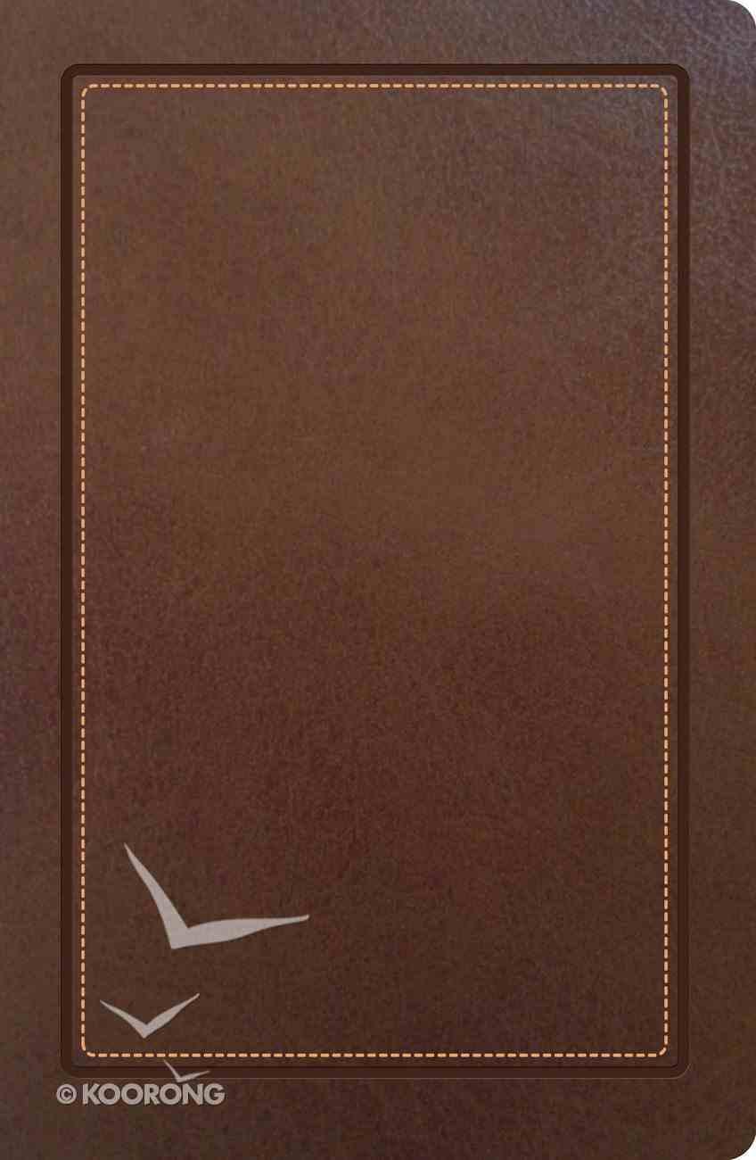 NKJV Ultraslim Reference Bible Camel (Red Letter Edition) Imitation Leather
