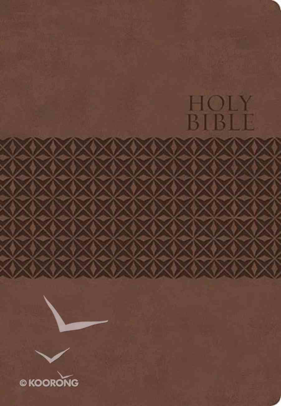 KJV Classic Personal Size Giant Print End-Of-Verse Reference Bible (Red Letter Edition) Genuine Leather