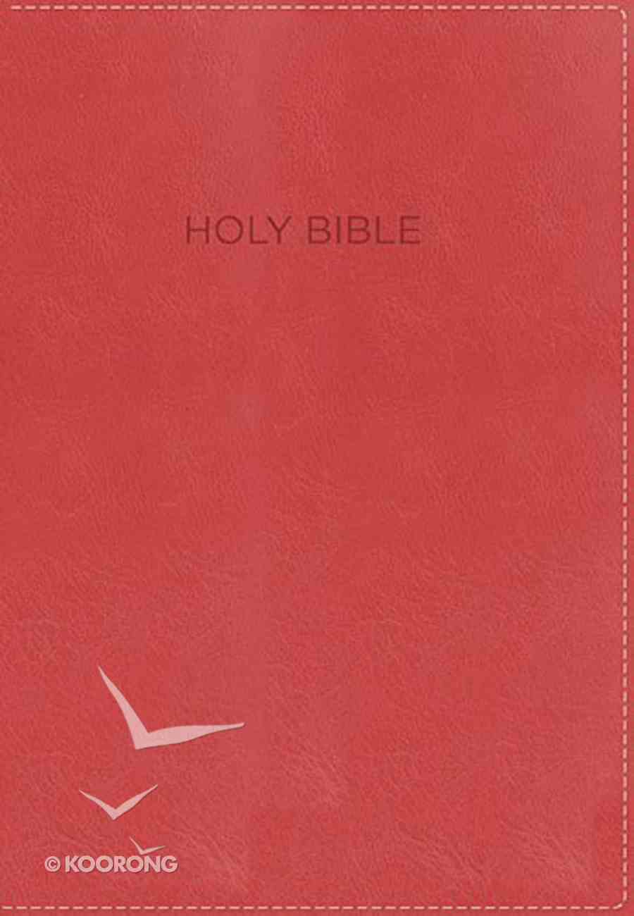 NKJV Foundation Study Bible Orange Indexed (Red Letter Edition) Imitation Leather