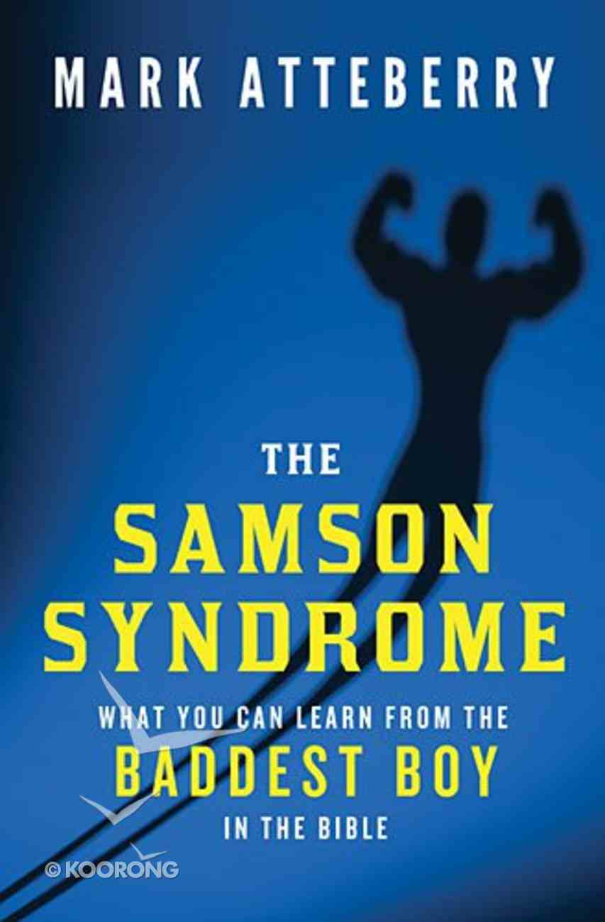 The Samson Syndrome Paperback