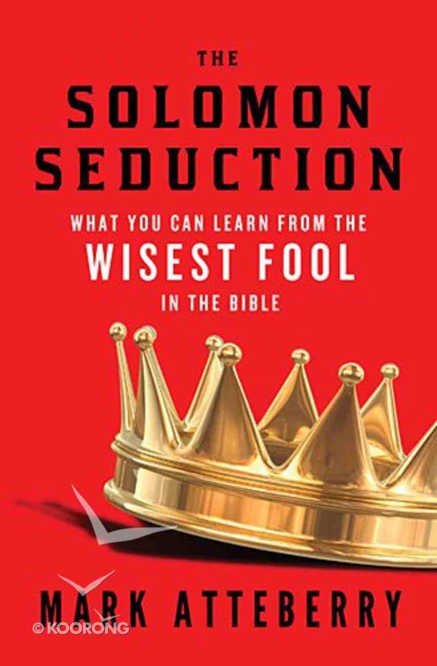 The Solomon Seduction Paperback
