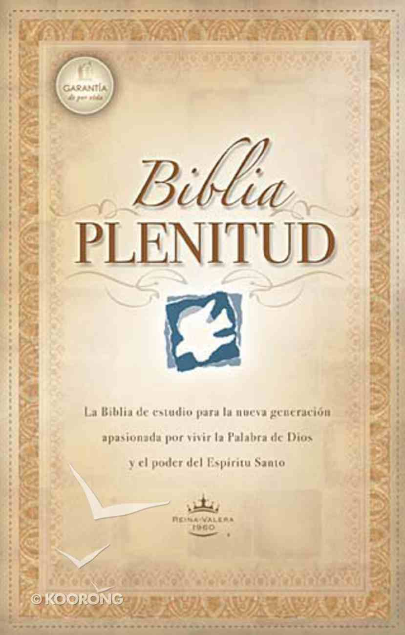 Rvr 1960 Biblia Plenitud Con Indice (Red Letter Edition) (Spirit Filled Life Bible) Hardback