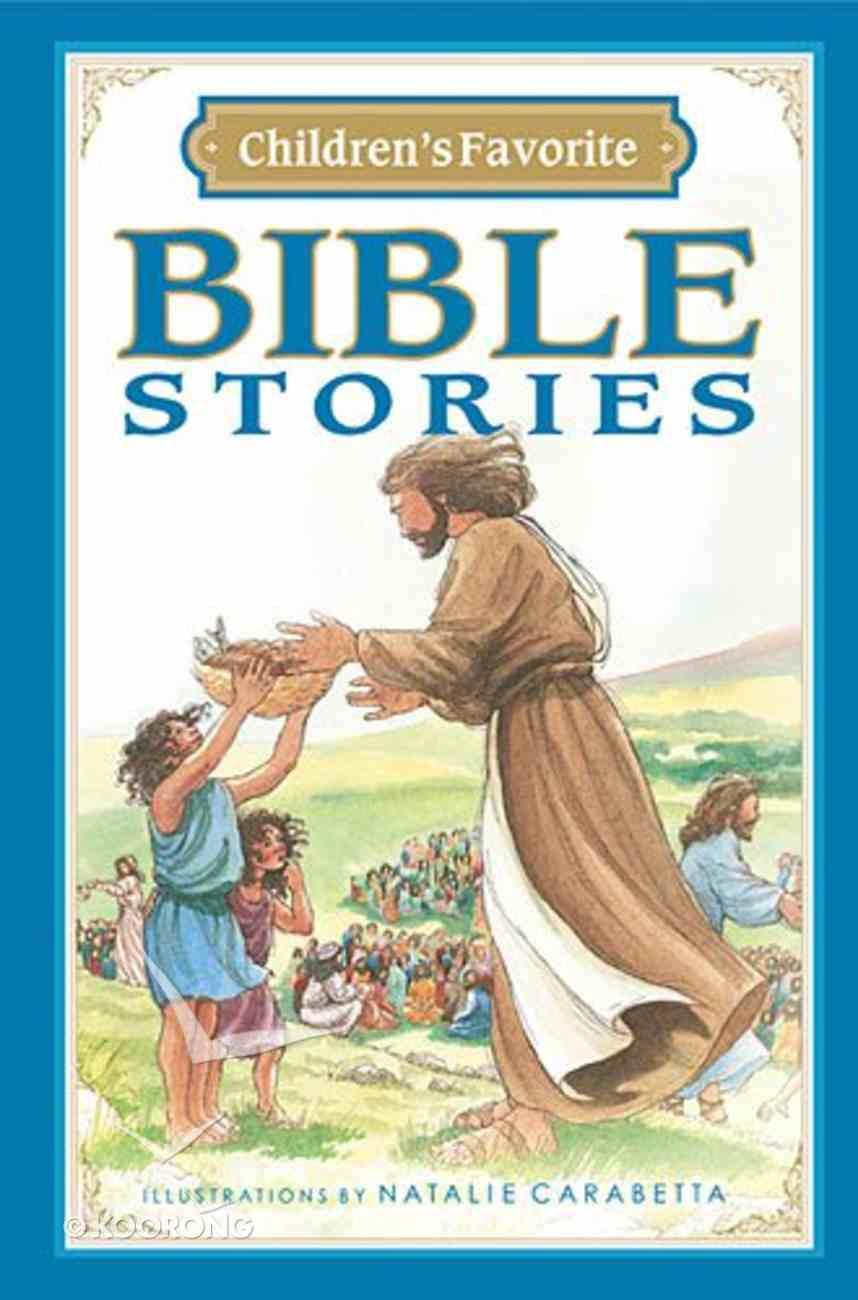 Children's Favorite Bible Stories (Icb) Hardback