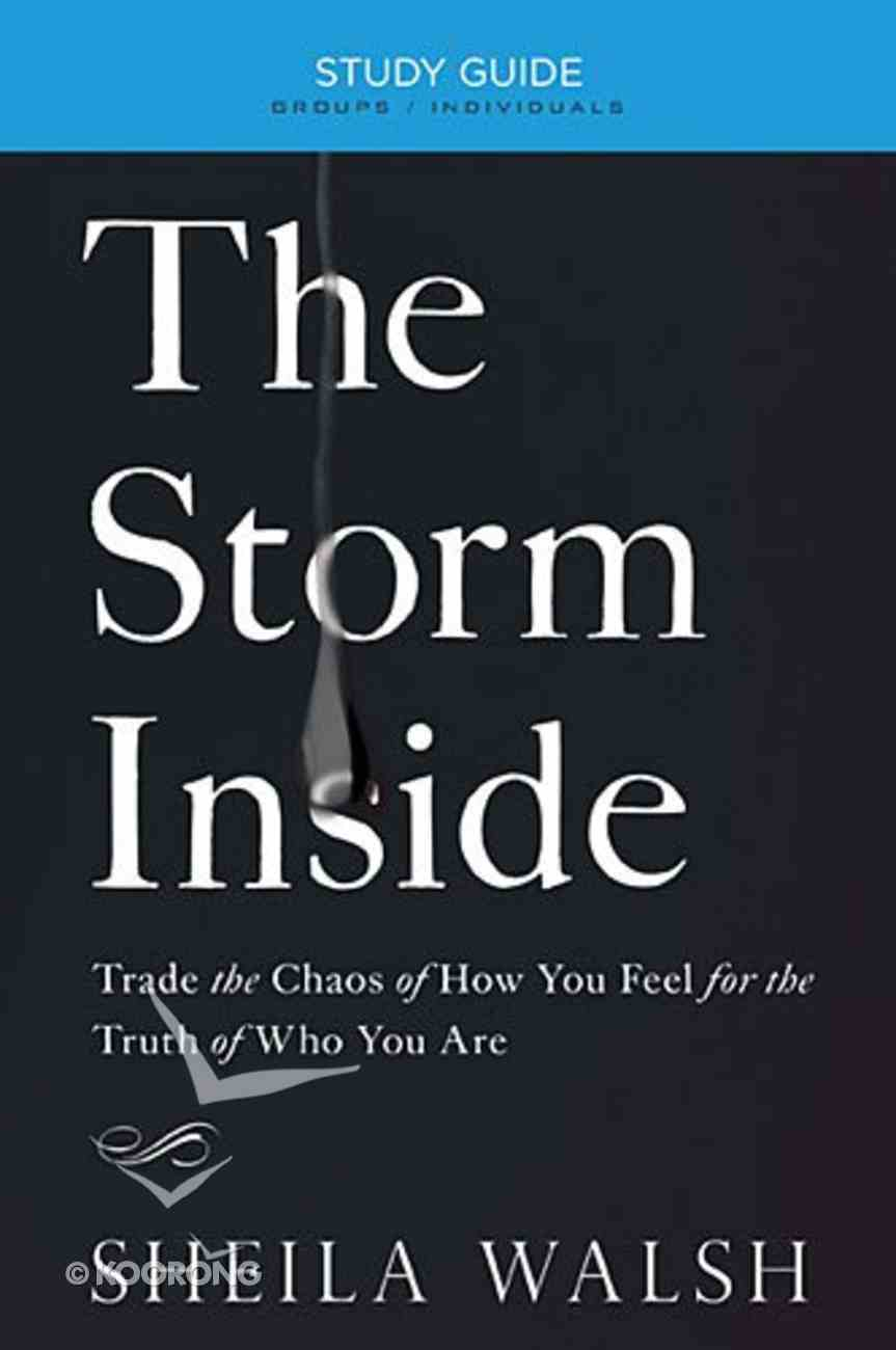 The Storm Inside (Study Guide) Paperback