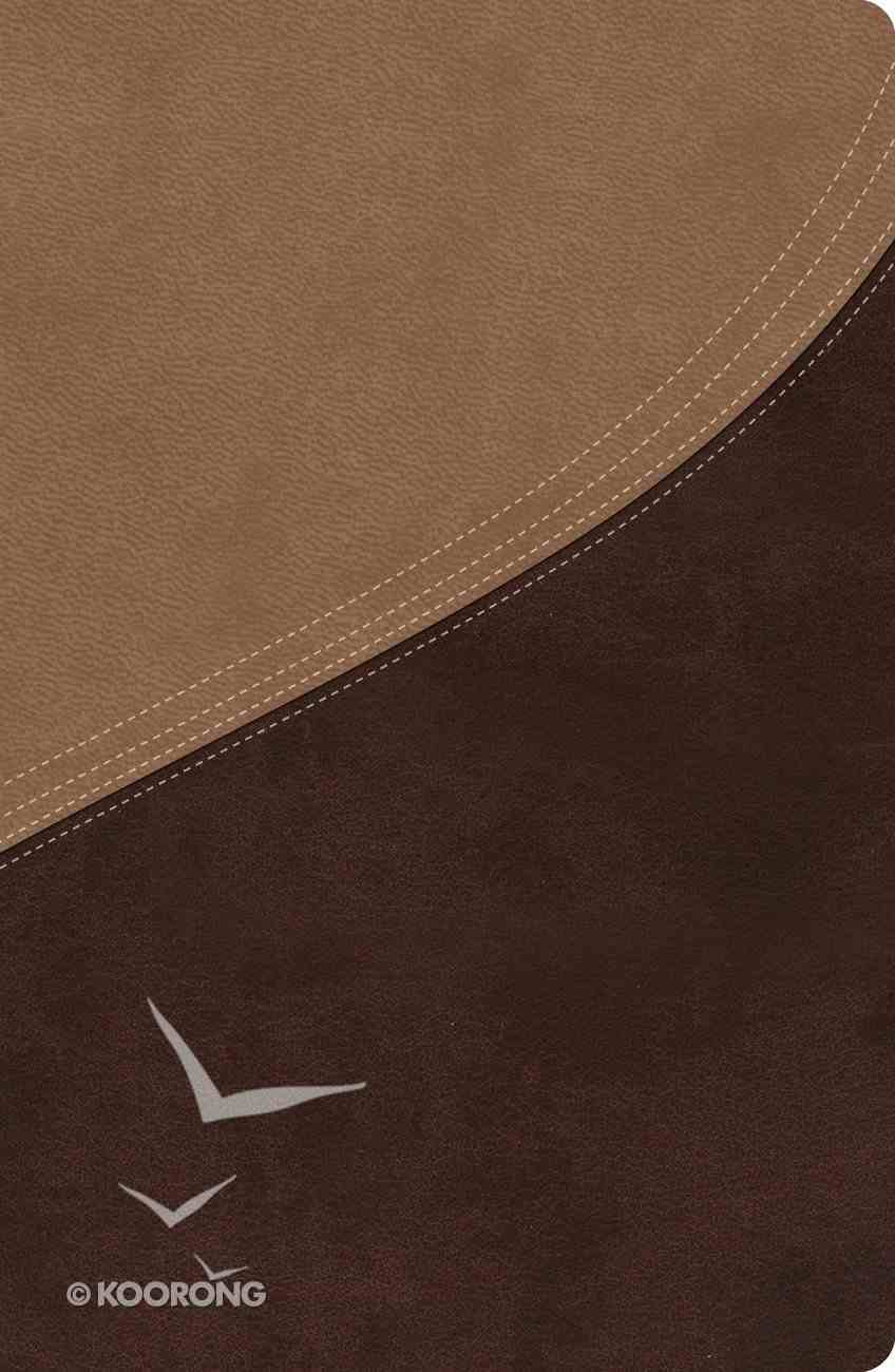 NIV Macarthur Study Bible, Indexed Earth Brown/Brown Sugar Bonded Leather